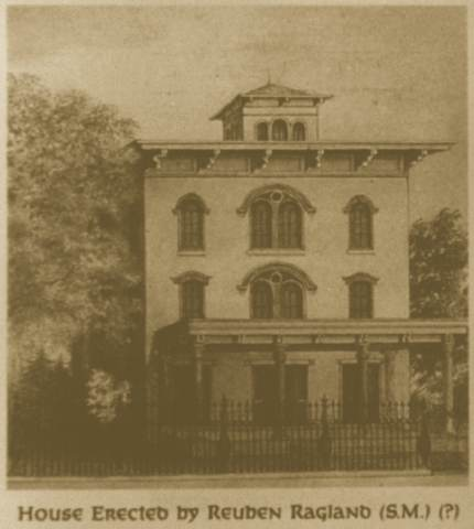 The Mansion in 1858